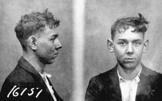 """Harry Fleisher, known as """"H. F."""" He was a good friend to Joseph Burnstein and a well known Purple gang lieutenant. He never hired anyone to kill for him and he was feared and respected in Detroit's underworld.  From: Detroit's Infamous Purple Gang by Paul R. Kavieff"""