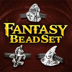 ThinkGeek :: Fantasy Charm Bead Set