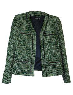 Jones New York Collection Women's Sea Foam Green Blazer Jacket (2) at Amazon Women's Clothing store