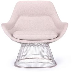 Rove Concepts Platner Easy Chair - Avocado Reproduction (119.195 RUB) ❤ liked on Polyvore featuring home, furniture, chairs, accent chairs, interior, avocado, rove concepts and molded chair