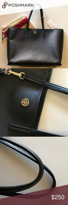 """Large Tory Burch Cameron Tote ❤️ EUC Tory Burch tote! This is a beauty. Comes with dust bag! Measurements are : 16""""(L) x 12"""" (H) x 5""""(W). See all photos for details on this gorgeous bag! Well taken care of. 🚫❌ No Trades❌🚫 Handles are in great condition. Does not come with key chain. Tory Burch Bags Shoulder Bags"""