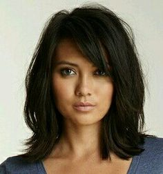 Hairstyles For Medium Length Hair Gorgeous 20 Fabulous Long Layered Haircuts With Bangs  Pinterest  Long