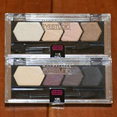 Two Maybelline Limited edition Eyeshadow BRAND-NEW Maybeline Limited Edition  #115 Bare it #125 Take it Maybelline  Makeup Eyeshadow