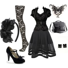 """Disconnect"" by theeverydaygoth on Polyvore"
