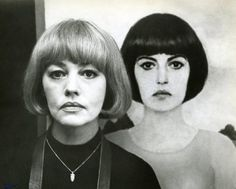 Jeanne Moreau (look at the shoulder in the painting and in person, guessing that the reality is somewhere in between?)