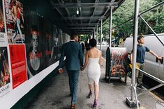 Karlena and Tom's Sixty Soho Rooftop Elopement