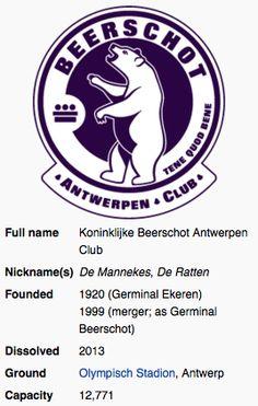 Beerschot AC ~ Antwerp ~ Belgium