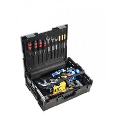 The tool case by B&W L-Boxx 136 FG is compatible with the Bosh and Sortimo cases — €90.30