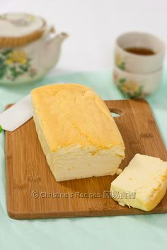 Japanese Cheesecake (Fluffy & Creamy)