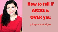 In this video I would like to share with you my 3 signs which are worth noticing in Aries being over you. This video is applicable for people who have strong. Aries, To Tell, Signs, Shop Signs, Aries Zodiac, Aries Sign, Sign, Aries Horoscope