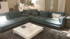 Söderhamn Couch-Ikea - Home Page Couch Ikea, Ikea Sofas, Ikea Home, Room Inspiration, Living Room Decor, New Homes, Lounge, Furniture, Interior Design