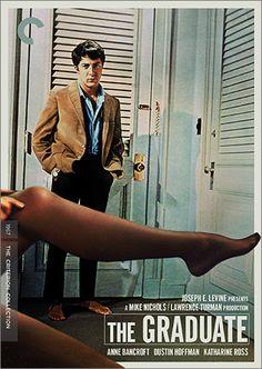 1/30. The Graduate (1967,美,Mike Nichols) 攝影,配樂,剪接,調度皆是神作,實在應該要更早看這部片