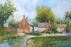 Ian Ramsay Watercolors: It is about time that I reported in my blog where ...