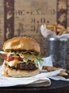friday night is burger night ... Woolworths (SA)