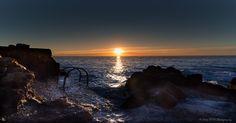 https://flic.kr/p/xQktCp | Sunrise over Sea, city of Antibes Juan Les Pins, French Riviera by Domi RCHX Photography | Lever du soleil sur la mer, ville d'Antibes Juan Les Pins, Côte d'Azur, FRANCE par Domi RCHX Photography
