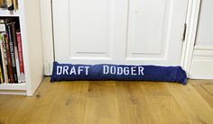 Denim DIY Draught Excluder (Door and Window)