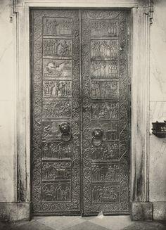 drzwi gnieźnieńskie II poł. XII w.