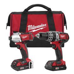 M18™ Cordless LITHIUM-ION 2-Tool Combo Kit | Milwaukee Tool