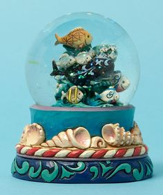 Love this Coastal Waterball Figurine by Jim Shore on #zulily! #zulilyfinds