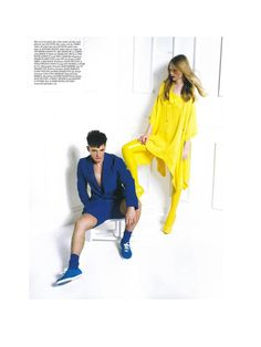 Lacoste featured in March issue of Wonderland Magazine