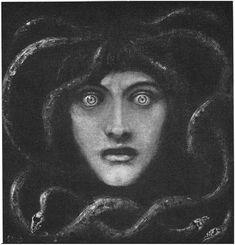 Franz von Stuck - Medusa