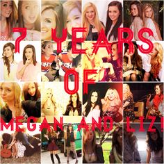 #7YearsofMeganandLiz It's been such an amazing seven years for you guys!!! Here's to the next wonderful things to happen! Can't wait for my iPod to fill with more Megan and Liz!