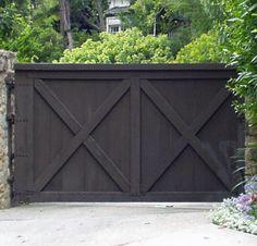 Estate Gate - Customer Provided Drive Gate Photo - DWG678