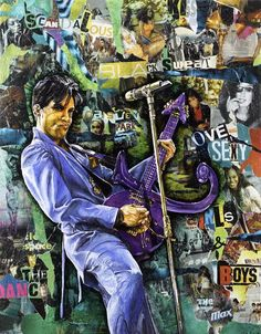 Prince by Yann Couedor legend of music: