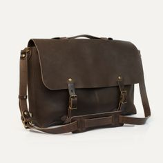 Sac plombier Jules, Moka - Jules Plumber bag, Moka. Bleu de Chauffe. Made in France #satchel #leather #bag