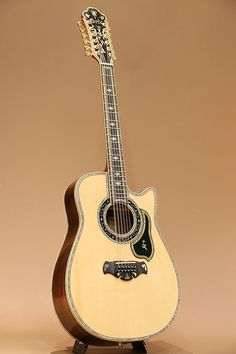 BOZO 12-String Custom (1990s) : Custom made to achieve the most gorgeous sound and appearance ever.