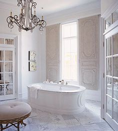 Dramatic Bathtub Design