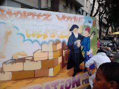 Live bombing Braderie Saint Martin #streetart #grafitti #tag September 2014