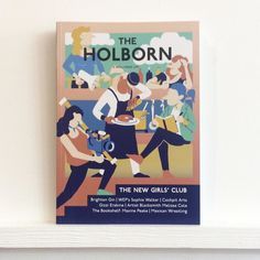 Here's @TheHolborn. Issue 6 looks at #brighton #gin #sophiewalker #cockpitarts #blacksmith artist #melissacole #maxinepeake #mexican  #wrestling