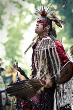 Native Warrior We wil not Lose this Spirt War