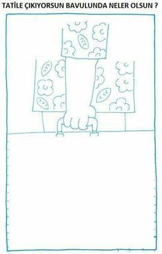(2017-07) Hvad er der i kufferten? Kids Learning Activities, Preschool Worksheets, Mandala Coloring Pages, Art N Craft, Activity Sheets, Home Schooling, Art Lessons, Art For Kids, Teaching