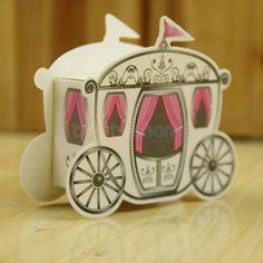 Princess Pumpkin Carriage Favor Boxes; Princess Bridal Shower Favor Box; Princess Birthday or Baby Shower; Cinderella Theme; Royal favors by SimplyCreatedForYou6 on Etsy