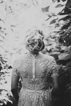 Impeccable beading on this Needle & Thread dress | Photo by Jonas Karlsson
