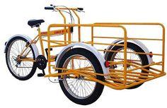 rower transportowy Cargo Bike Italia TITAN 300 - paka 100x80 200 kg ładowności 8 biegów  - Powered by BST