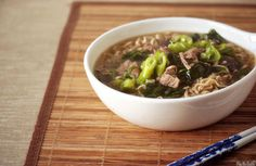 Slow Cooker Japanese Pork and Ramen Soup Recipe on Yummly