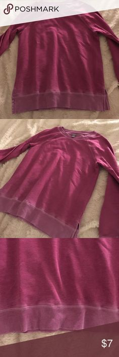 Aerie purple sweater Great condition sweater. The color is a purplish magenta color aerie Sweaters