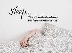 Sleep; The ultimate academic performance enhancer.  #TibroMedical #SleepApnea #SleepBetter