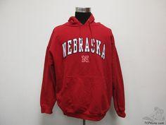 OVB Nebraska Corn Huskers Hoody Sweatshirt sz 2XL XXL SEWN University NCAA #OVB #NebraskaCornhuskers