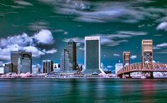 Beautiful Downtown Jacksonville -  Click on Photo for City of Jax Website