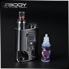Vape Mods Authentic S-CA3 Mod E Cigarette Starter Kits S-Body 50W Variable Voltage Box Mod Kit with RDA And Eliquid Bottle Bottom Feeder Online with $64.93/Piece on Sunshinegreentech's Store | DHgate.com
