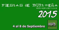 BURTZEÑA SI Existe y celebra sus Fiestas 2015 (4 - 8 de Septiembre) Barakaldo