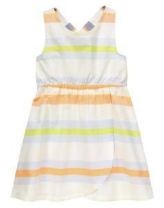 Crazy 8 Neon Stripe Dress | Appletini, Figgylicious, Forget-Me-Not