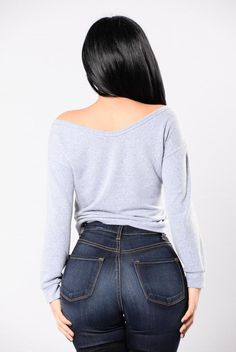"""Available in Red Brown and Charcoal Deep """"V"""" Neck Long Sleeve Bodysuit Adjustable Snap Closure Detail In Front Made In USA Rayon Spandex Plus Size Womens Clothing, Plus Size Outfits, Curvy Women Fashion, Womens Fashion, Curve Jeans, Beautiful Streets, Janet Guzman, Long Sleeve Bodysuit, Girls Jeans"""