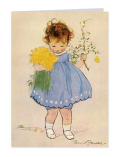 Spring Flowers by Muriel Dawson (1897-1974)