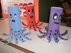 Pre School, Crafts For Kids, Triangle, Babies, Teaching, Summer, Blog, Water Animals, Crafts For Children