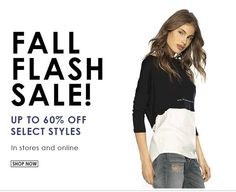 #Fall #FlashSale on #clothing